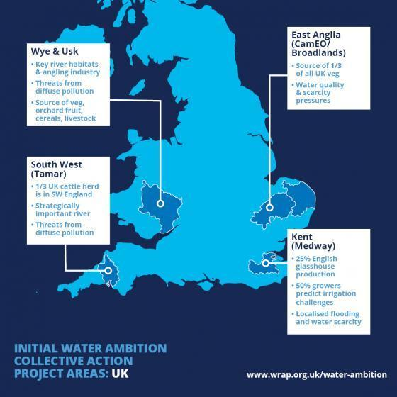 3C2025 project locations map UK